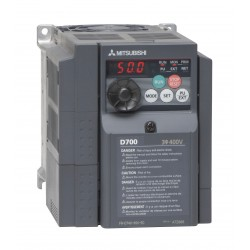 Variateur de fréquence FR-D720S 2,2Kw 10A (220-230 Mono)-(220-230 Tri) IP20