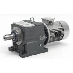 Motoréducteur Coaxial ITH112 i5,38 Ø35 Taille112 4pôles 4Kw IE2 B14 H:130 fonte