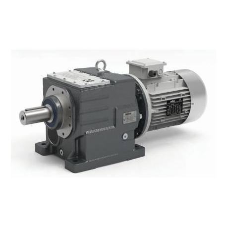 Motoréducteur Coaxial ITH112 i26,16 Ø35 Taille71 4pôles 0,25Kw IE1 B5 H:130 fonte