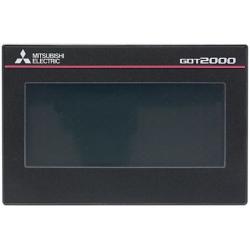"""Ecran GOT2000 GT21 USB, ethernet, RS232/422, IP 67 24Vcc 3,8""""  Noir"""