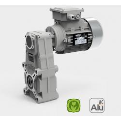 Motoréducteur Pendulaire FT105/3 i88.87 Ø17 Taille 56 4 pôles 0,09KwIE1 B14 aluminium
