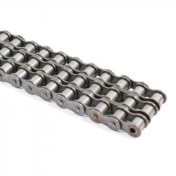 Chaîne acier Triple 40B-3 pas de 63.5mm