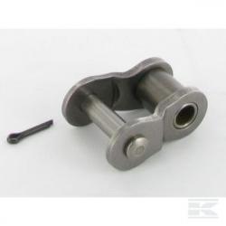 Demi-maillon de jonction Simple 04B-1 pas de 6mm