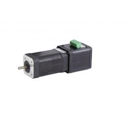 Moteur Brushless IP20 100(135)W BL032 3000 (4000)t/mn 24(36)Vcc Ø8 Avec carte électronique intégrée et codeur 12cpr
