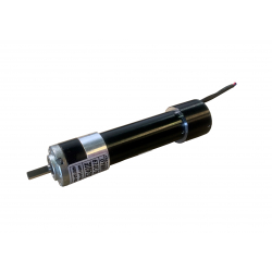 Motoréducteur Brushless IP20 Epicycloïdal P32 Ø6 i45,56 BL005 24 16W  avec carte électronique intégrée