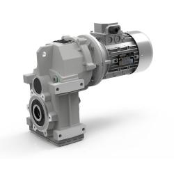 Motoréducteur Pendulaire ATS902U i15,68 Ø35 Taille 71 4pôles 0,37Kw IE1 B5 alu