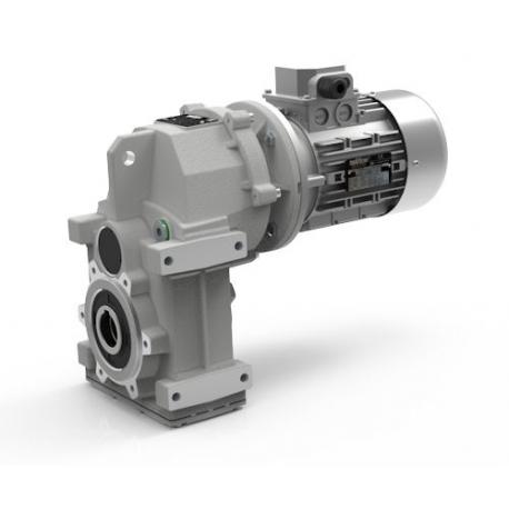 Motoréducteur Pendulaire ATS902U i5,87 Ø35 Taille 71 4pôles 0,25Kw IE1 B5 alu