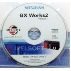 GX Works2, Logiciel de programmation séries FX, Anglais, DVD, 2 licences PC